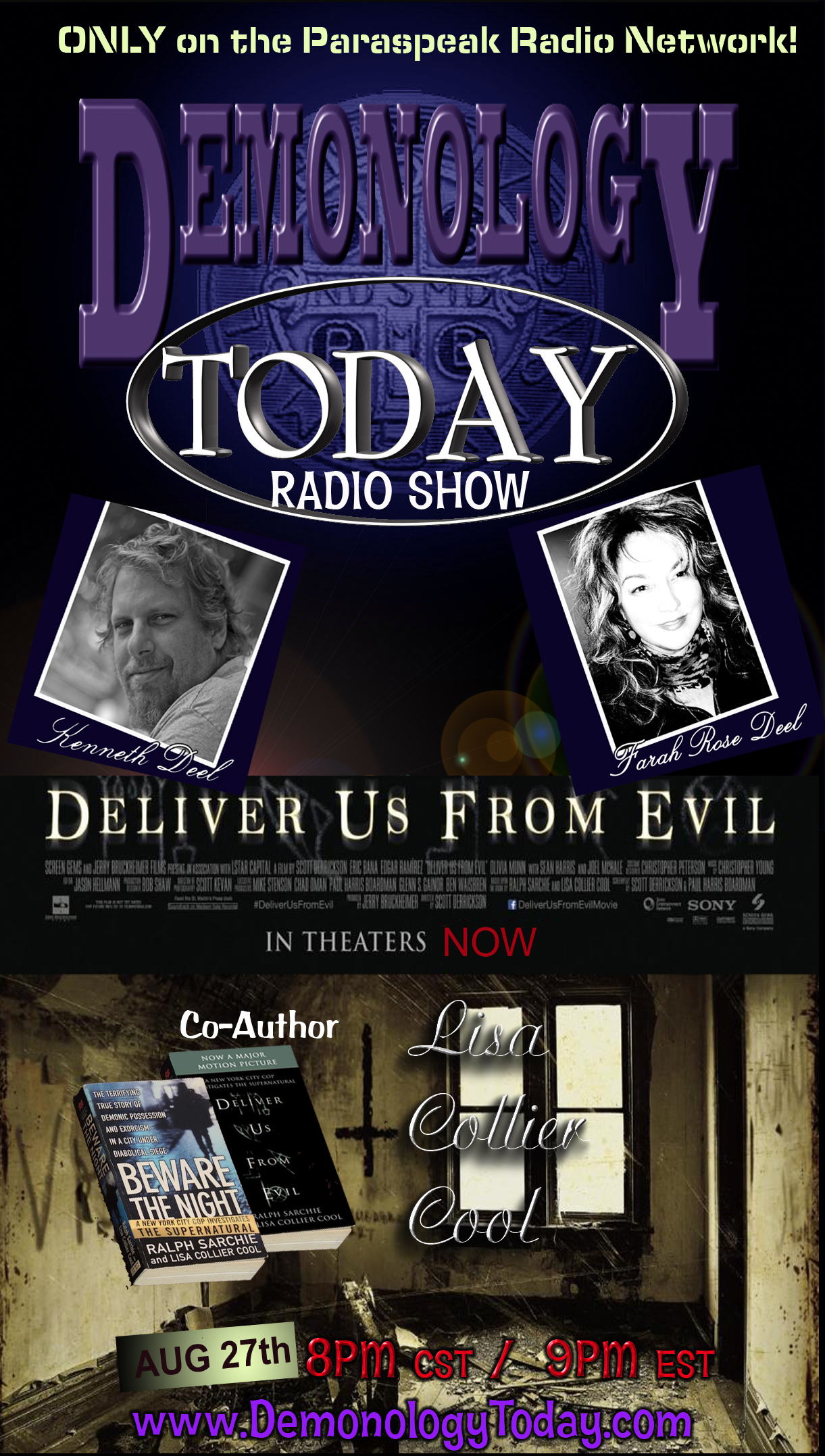 "Lisa Collier Cool - Co_Author ""Deliver us from Evil"" (Originally titled ""Beware the Night"""