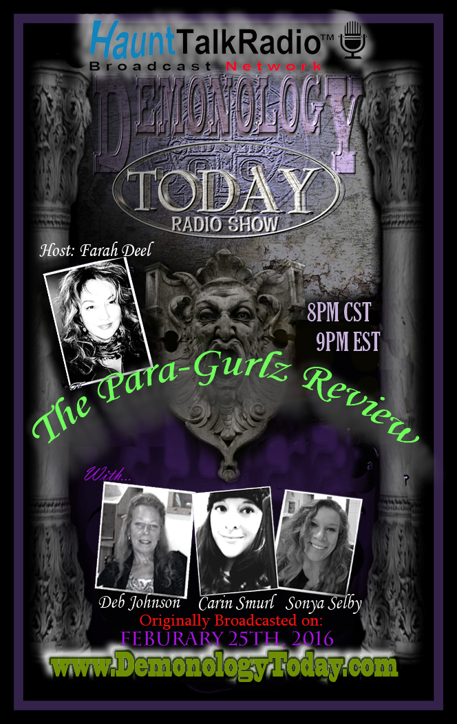 Episode One of the Demonology Today Special Edition Para-Gurlz Review
